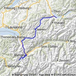 Westalpen-X 09 / 2.Tag / Krattigen (CH) - Vallorcine (F)