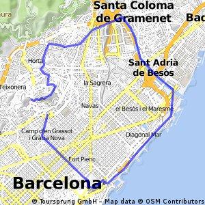 Barcelona per la Platja