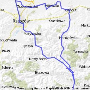 Zalesie-Dylągówka-Bachórz-Łańcut-Zaczernie