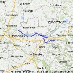 MTB Tour  Rinteln - Bohmte