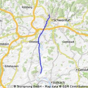 Mainradweg Obereisenheim