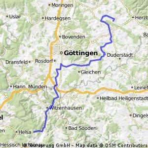 GrAR 001: Hattorf - Friedland - Großalmerode