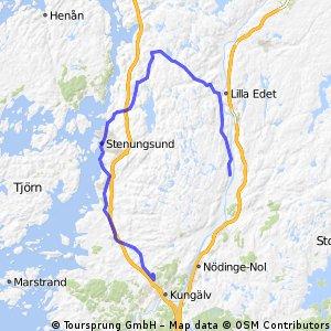 Kungälv - Stenungsund - Lilla Edet