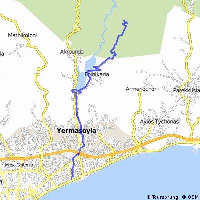 To Kyparissia Peak