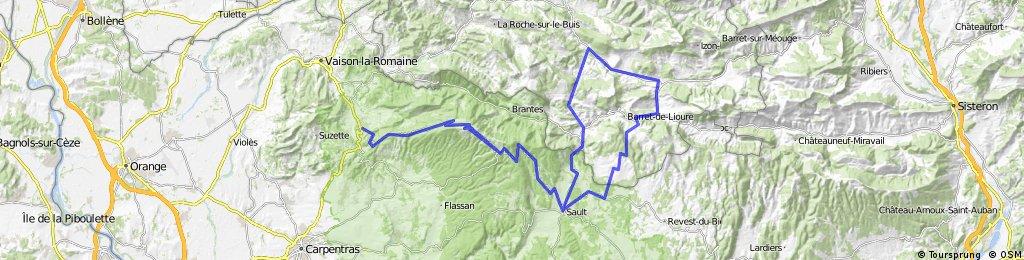 La Canibalette 130km 3740htm