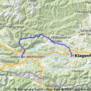 VIllach>Klösterle>Klagenfurt