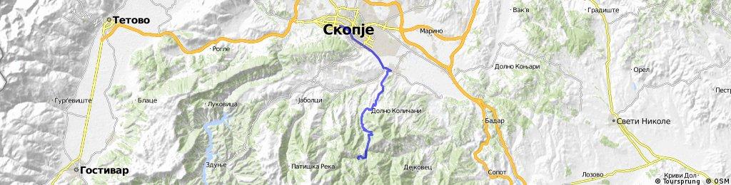 Skopje-Kadina reka-Skopje