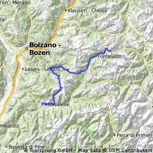 TDP Chalange Trentino Cavalese - Passo Pordoi