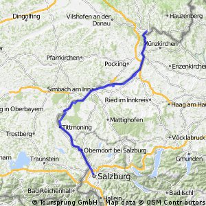 E4 Salzburg - Passau