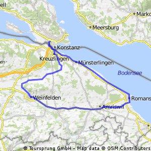 Lengwil-Weinfelden-Amriswil-Romanshorn