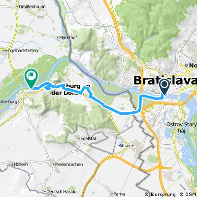 Bicycling Slovakia-Euro Velo 6