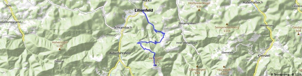 Offizielle Strecke Muckenkogel