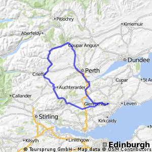 Sma' Glen 104 Mile Route