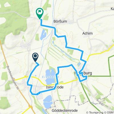 Sattelfest Abschnitt Werla - Schladen - Hornburg - Heiningen