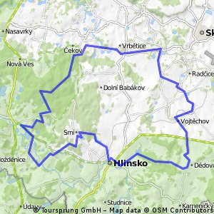 Hlinsko - okruh