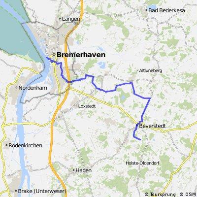 Bremerhaven nach Beverstedt