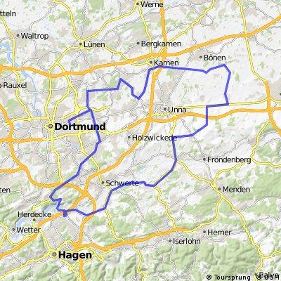 Frömern - Hennen - Hohensyburg