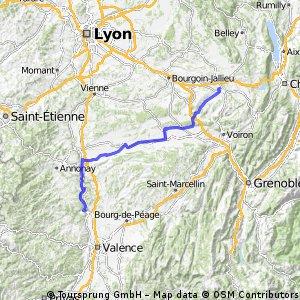 etapa č.3 - Fitilie - Tournon