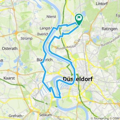 Ottis Tour Düsseldorf Flughafen Landung - Rhein