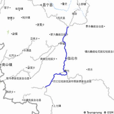 Из Юньсяня до развилки, на пол-пути к Цанъяну