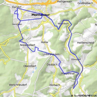 Elgendorf - Kirchähr (Gelbachtal - Montabaur - Elgendorf
