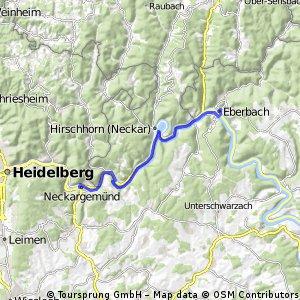 Neckargemünd nach Eberbach