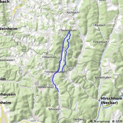 Altneudorf - Eichköpfl über Eiterbach