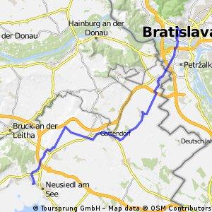 Bratislava - Neusiedl am See cez Zumdorf