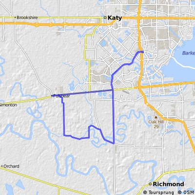 Cinco Ranch to Fulsher