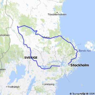 Svezia progetto - Giro della Svezia Centrale (lungo 15gg)