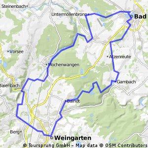 48_Bad Waldsee – Weingarten – Bad Waldsee