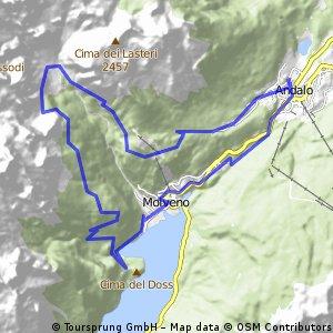 Andalo - Pradel - Altissimo - Pedrotti - Molveno Henry Tour Andalo