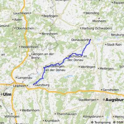 33_Von Günzburg nach Donauwörth