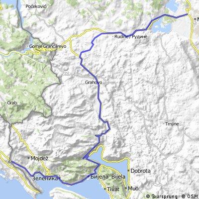 Montenegro 3. nap: Niksic - Risan - Igalo (Sutorina)