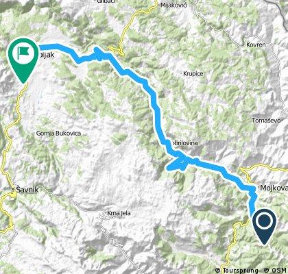 Montenegro 8. nap: Biogradsko tó - Mojkovac - Tara-kanyon - Razvrsje
