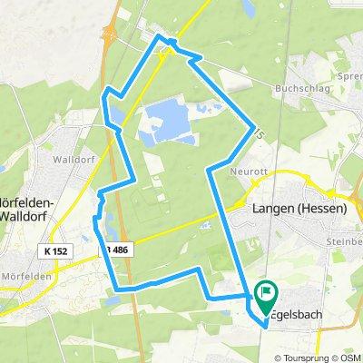 Kleine Runde Egelsbach,Walldorf,Zeppelinheim,Egelsbach
