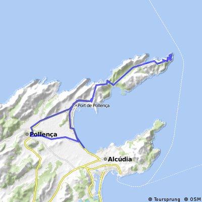 Alcudia - Cap Formentor - Alcudia