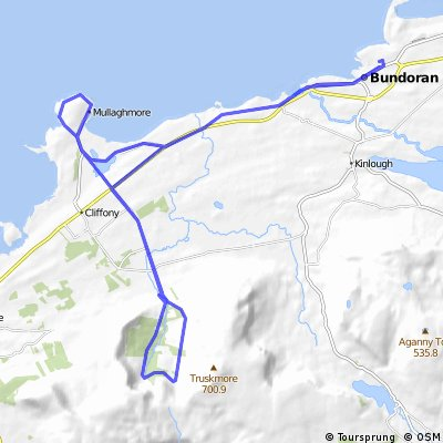 Bundoran- The Horse Shoe- Mullaghmore- Bundoran