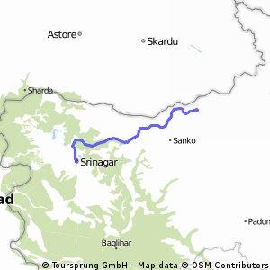 2° Tappa: Srinagar > Lalung