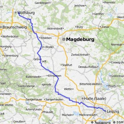 Wolfsburg - Leipzig