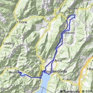 MTB - Torbole-Toblino-Riva del Garda