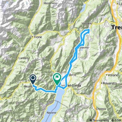 MTB Garda Day 1 - Ledro-Riva del Garda-Torbole-Sarche-Riva del Garda