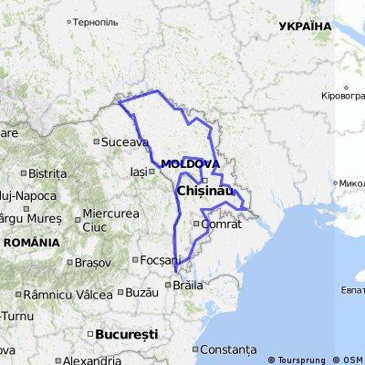 Тур по Молдове