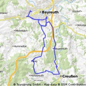 Bayreuth,Wasserkraut Creussen Bayreuth