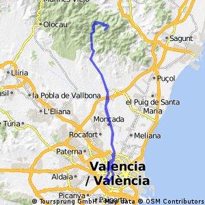 Valencia-antenas Garbí-Valencia