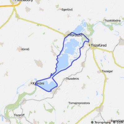 Tisza-tó kör