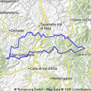 San Gimignano - Radda - San Gimignano