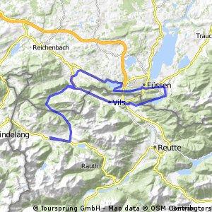 Tour 2013 Auf König LudwigsSpuren  mittel