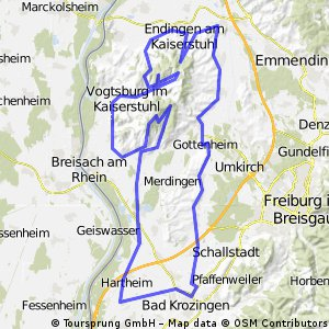 Tuniberg und Kaiserstuhl