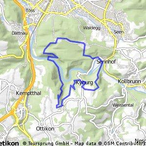 Eschenberg - Kyburg - Eschenberg
